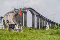 Jules Wijdenbosch most zdjęcie stock