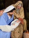 julföräldrar Royaltyfri Foto