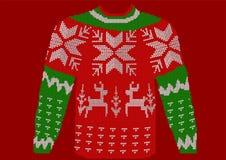 Julförkläde royaltyfri illustrationer
