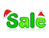 julförsäljning royaltyfri illustrationer