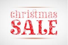 julförsäljning Royaltyfri Fotografi