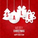 Julförsäljning Arkivfoto