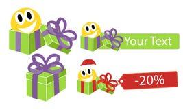Julförsäljning! Stor försäljning! Royaltyfri Foto