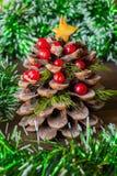 Julfilial och klockor Arkivfoton