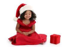 julflicka fotografering för bildbyråer