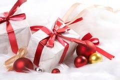 julgåva fotografering för bildbyråer
