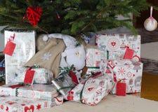 julgåvatree under Royaltyfria Bilder