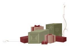 julgåvor stock illustrationer