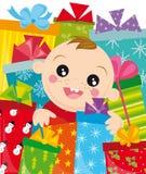 julgåvor vektor illustrationer