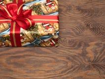 Julgåvor ar redan köpta och ar packade Arkivbild