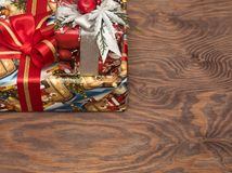 Julgåvor ar redan köpta och ar packade Royaltyfri Fotografi