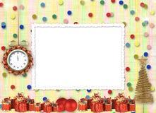Julgåvor till ta tid på Royaltyfria Bilder