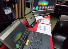 Julgando o evento - exploradores novos da TIC - Sul da Austrália Foto de Stock