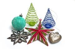Julgarnering Fotografering för Bildbyråer