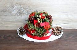 Julgarnering för julgran Arkivbilder