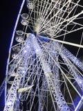 Julgarnering Ferris Wheel Royaltyfri Foto
