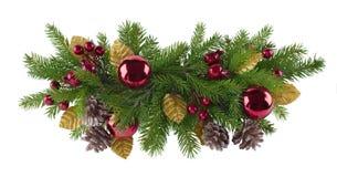 Julgarneringbeståndsdel Arkivfoto