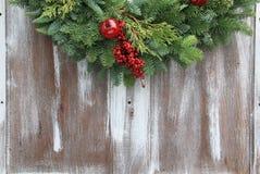 Julgirland Fotografering för Bildbyråer