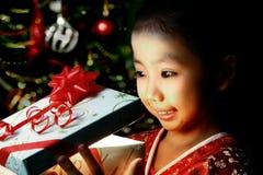 julglädje Fotografering för Bildbyråer