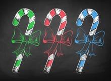 Julgodisrotting med pilbågen stock illustrationer