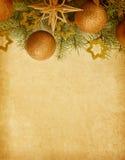 Julgräns. royaltyfri bild