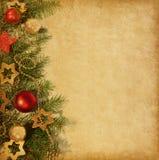 Julgräns. Royaltyfri Fotografi