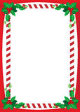 Julgräns royaltyfri illustrationer