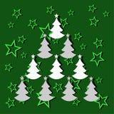 Julgran Fotografering för Bildbyråer