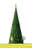 Julgran här stock illustrationer