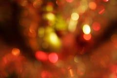 Julgran med suddighetseffekt Royaltyfri Fotografi