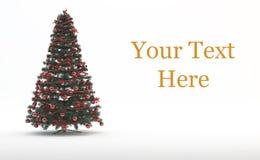 Julgran och gåvor vektor illustrationer