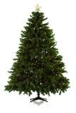 Julgran som är aktivering i 16 bildserie Royaltyfri Bild