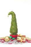 Julgran som göras av sisal fotografering för bildbyråer