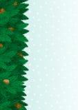 Julgranbakgrund vektor illustrationer