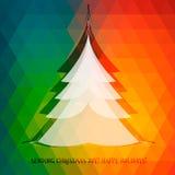 Julgranbakgrund Fotografering för Bildbyråer