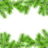 Julgranfilialen för dekorerar Royaltyfri Illustrationer