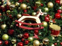 Julgrangarneringar Arkivfoton