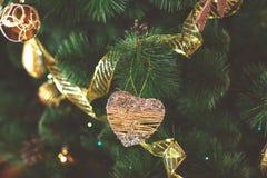 Julgrangarneringslut upp arkivbild