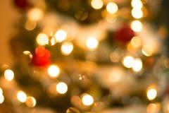 Julgranprydnadbakgrund Royaltyfri Bild