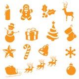 Julgrunderna royaltyfri bild