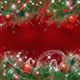 Julhälsningkort Arkivbild