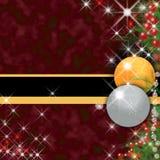 Julhälsningkort Fotografering för Bildbyråer
