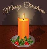 Julhälsningkort Royaltyfri Fotografi