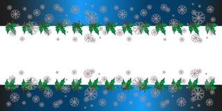 Julhälsningkort, vit bakgrund, begrepp royaltyfri illustrationer