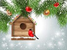 Julhälsningskort Arkivbild