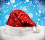 Julhatt Santa Claus Royaltyfri Fotografi