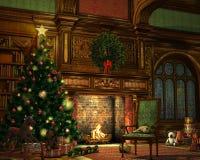 julhelgdagsafton Arkivbild