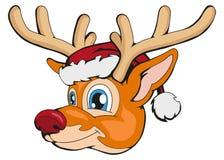 Julhjortar som isoleras på vit bakgrund Ferie för ` s för nytt år alla några objekt för illustrationen för julhjortelement indivi royaltyfri illustrationer