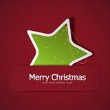 Julhälsningskort Arkivfoto