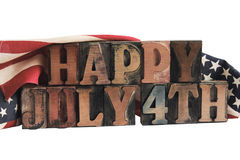 Julho feliz ô Fotografia de Stock